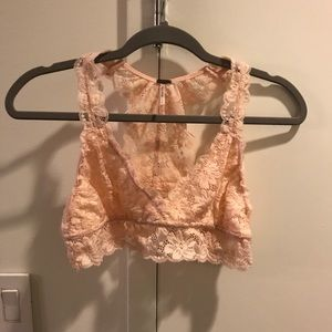 Other - PINK LACE BRALETTE